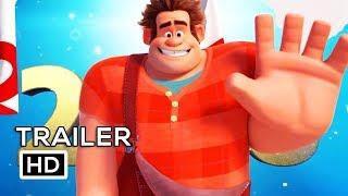 WRECK IT RALPH 2 Official Trailer Teaser (2018) Kristen Bell Disney Animated Movie HD