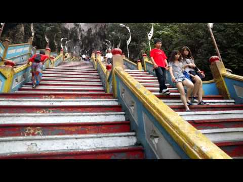 Ascending the Batu Caves with Google Glass