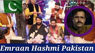 Pakistan Imran Hashmi cheat Indian movie promote promotion