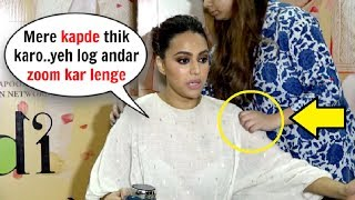 Swara Bhaskar INSULTS Media Reporter At Veere Di Wedding Promotional Interview