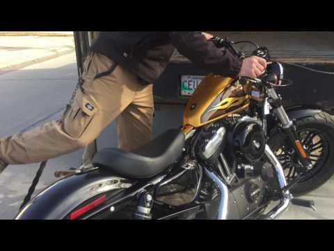 Yamaha XV 750 Virago Bobber