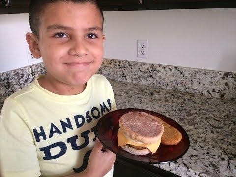 McDonald's Sausage and Egg McMuffin