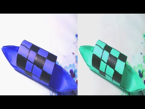 How To Make a Paper Boat || DIY Paper Boat Tutorial || Crafts Design