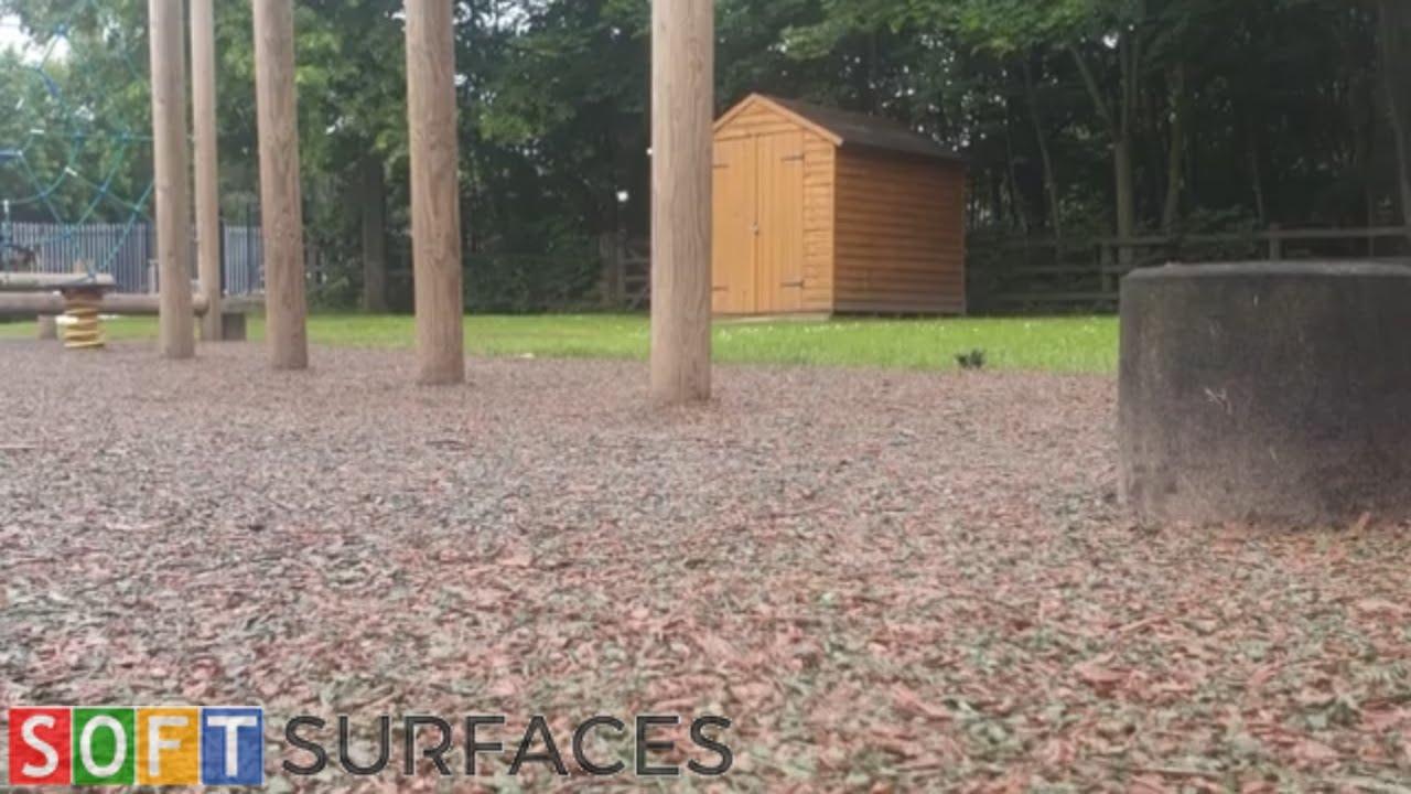 Rubber Mulch Trim Trail Installation in Nottingham, Nottinghamshire | Rubber Mulch Surfacing