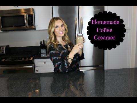 Healthier Homemade Coffee Creamer