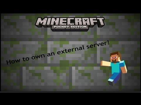 [Minecraft PE] How to own/host an External IP Server!!!