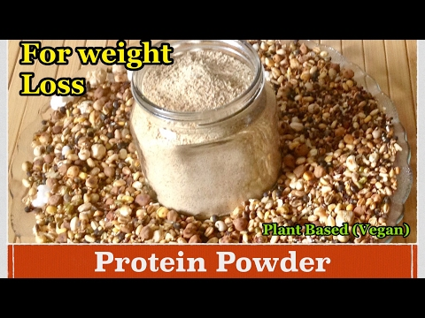 Homemade Protein Powder | How to make Protein Powder for weight Loss at Home | Healthy Diet | Vegan