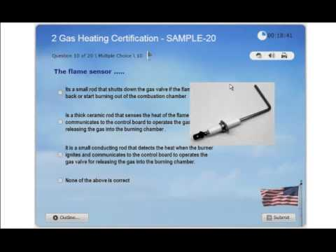 Gas Heating Certification - Practice Exam 2 - NATE ICE HVAC - Gas Furnaces