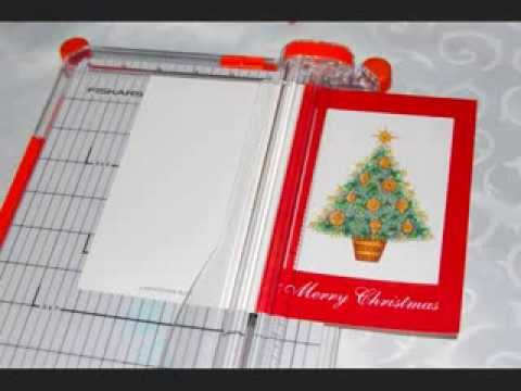 Recycling Xmas Cards into Gift Boxes.wmv