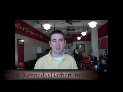 Why do guys love Kennedy's All American Barber Club?
