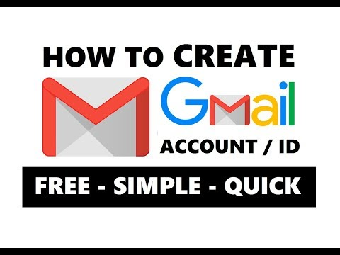 How To Create Gmail Account Easily 2019 | Make New Gmail ID or Google Account For Free