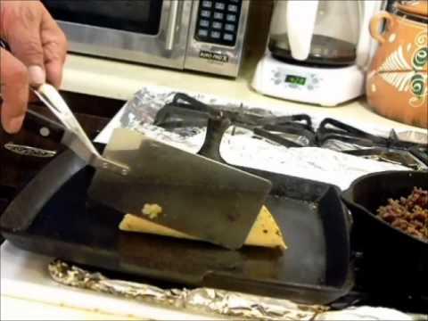 No-Fry Home made Taco Shells From Scratch E17.wmv