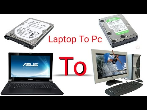 How to install laptop Hard drive (HDD/SSD) on Desktop PC (Hindi)