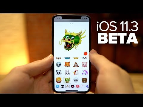 iOS 11.3 Beta - Disable performance throttling, 4 New Animoji and more!