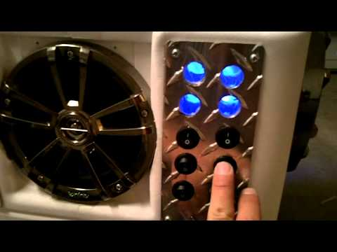 cooler stereo cooler radio river radio Chickeneye V4