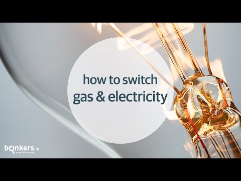 How to Switch Gas and Electricity with bonkers.ie