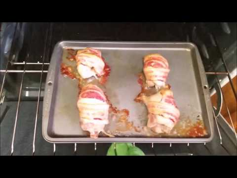 Cooking Video - BBQ Bacon Wrapped Chicken Thighs