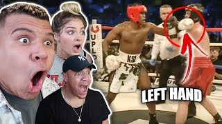 REACTING TO KSI vs JOE WELLER FIGHT (INSANE KNOCKOUT)