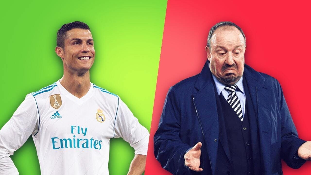 Why do Cristiano Ronaldo and Rafael Benítez hate each other?   Oh My Goal