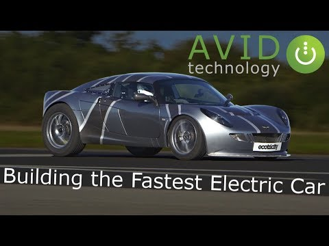 Building the Fastest Electric Car (EV) by AVID