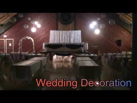 Wedding Event Decoration @ Lumsden Community Centre, Saskatchewan