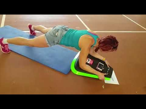 Plank on Stealth planking board ... 8 minutes long