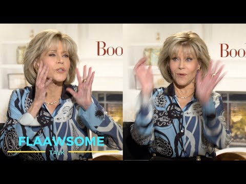 Jane Fonda (80) Talks BODY Insecurities And Sexy 80s Work Out Outfits