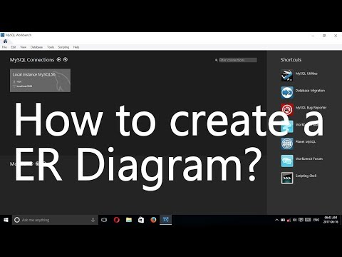 MySQL Workbench Tutorial - How to create a ER Diagram