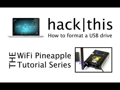 How To: Format A USB Drive For the WiFi Pineapple Mk IV