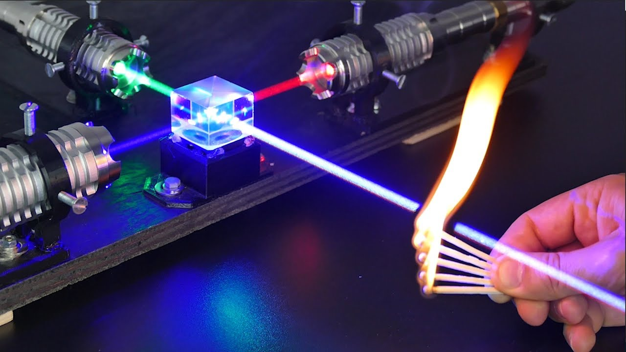 Experiments with the World's Strongest Laser - SANWU LASERS