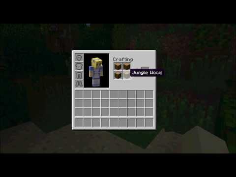 Minecraft Tutorials: How to make a water bottle.