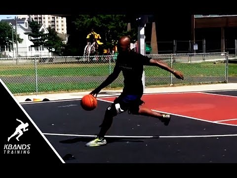 How To Run Faster Dribbling Down The Court   Basketball Speed Training