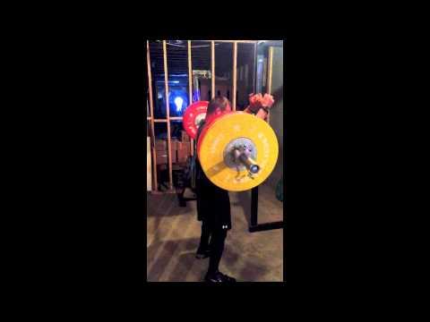 Scott 155kg Front Squat @ 83.5