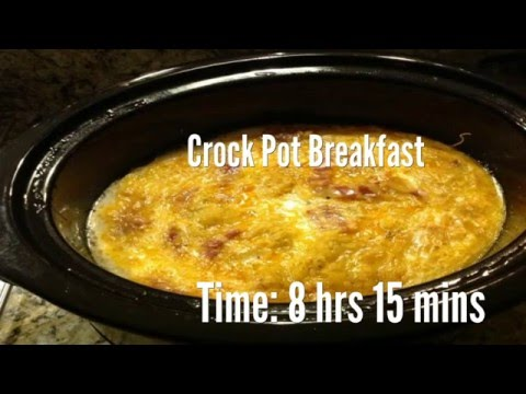 Crock Pot Breakfast Recipe