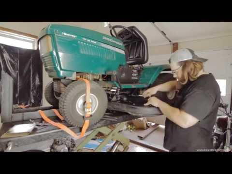 How to Replace a Deck Belt on a MTD Riding Lawn Tractor