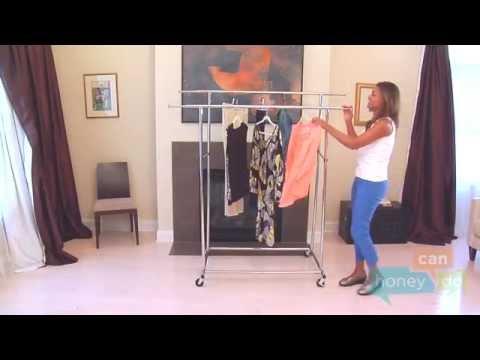 Honey-Can-Do GAR-01305 Double Commercial Garment Rack Instruction Video