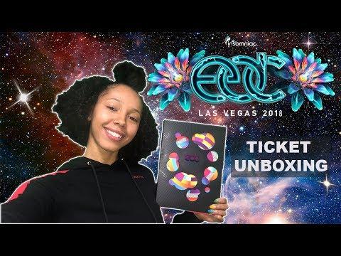 EDC Las Vegas 2018 Ticket Unboxing