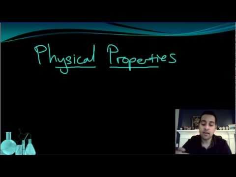 Chemistry 1.1 Matter and Properties (Part 1 of 2)