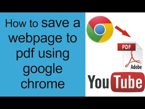 How to convert webpage to pdf , HOW TO SAVE WEB PAGE  , HOW TO CONVERT WEBPAGE IN TO PDF