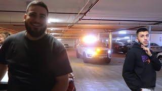 WE GOT CAUGHT!! *COPS SHOWED UP*