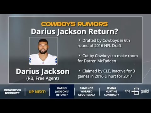 Cowboys Rumors: David Irving's Future, Demarcus Lawrence Contract And Signing Darius Jackson