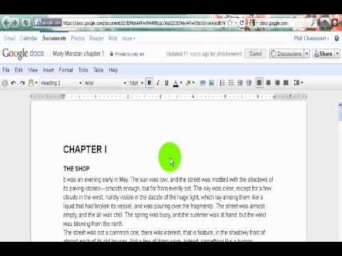 Linking to Google Docs in the Magic Window.wmv
