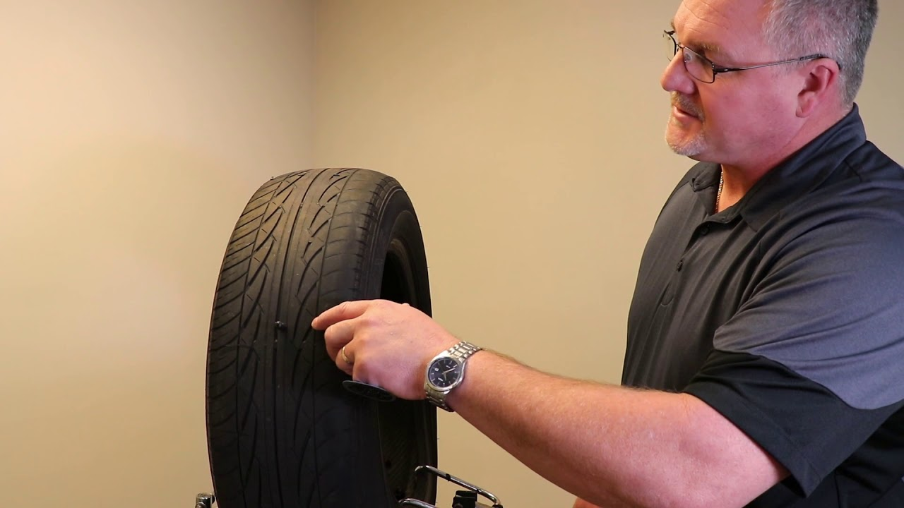 When is a vehicle's tire repairable