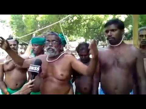 The struggle of the debt and drought trapped farmers of Tamil Nadu