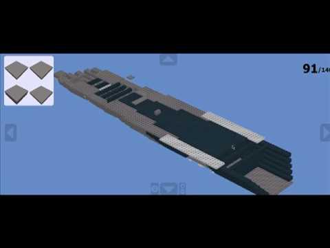 Lego Battleship Yamato Model Sinking Lego Battleship Building