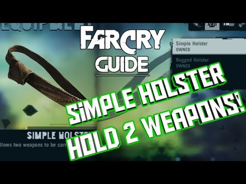 How To Make The Simple Holster - Far Cry 3