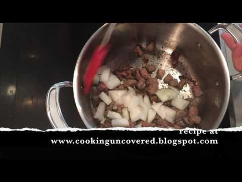 Rib Steak Stew in Yorkshire Puddings