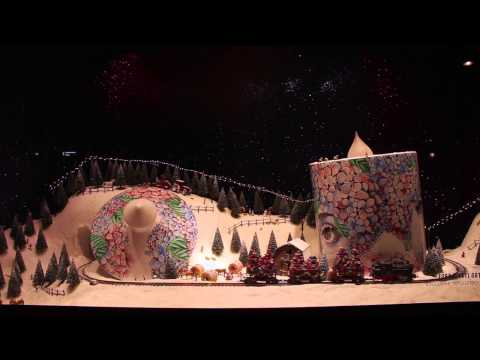 Selfridges Christmas Window Train