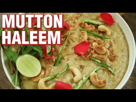 Hyderabadi Haleem Recipe | How To Make Mutton Haleem | Indian Culinary League | Varun Inamdar