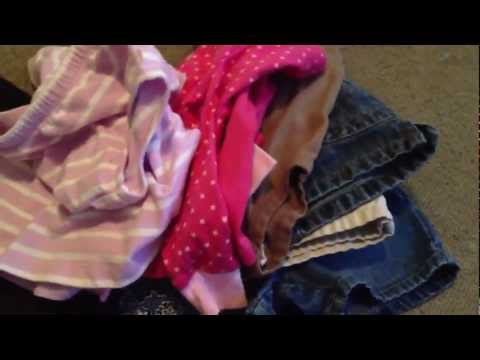Baby clothes consignment sale haul